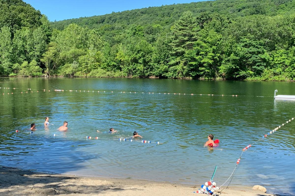 Swimming at Berean Park